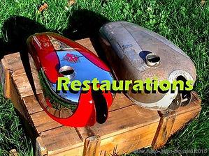Restaurations d'objets et vehicules  de collection