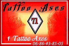 tattoo axes.