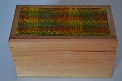 Caja Verde Amarillo Naranjo