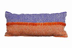 Violet Orange Cushion with Fleece