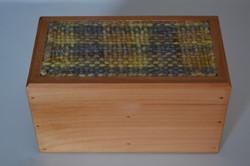 Caja Gris Amarillo Matizado