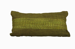 Green Cushion with Green Flamé