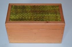 Caja Verde Oscuro Matizado