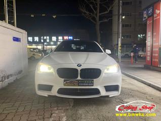 BMW 11년식 520d 블루투스 전화 & 오디오 (마이크,안테나 설치)
