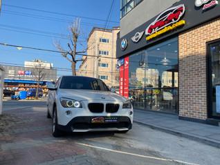 BMW X1(E84) 블루투스 (전화,오디오) DMB