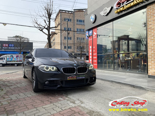 BMW 5시리즈 열선 핸들 & 안드로이드 올인원