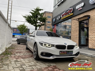 BMW 420D (크루즈컨트롤&패들쉬프트) 핸들 교체