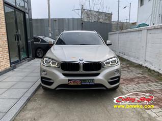 BMW X6 디지털 계기판(6WB) 교체