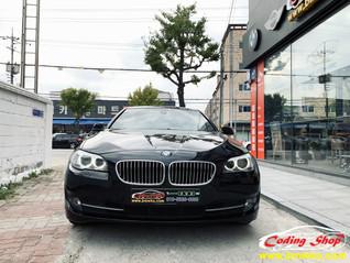 BMW 520d 디지털 계기판(6WB) 장착