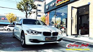 BMW 320D ED (크루즈컨트롤&패들쉬프트) 핸들 교체