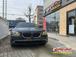 BMW 10년식 7시리즈 블루투스 오디오
