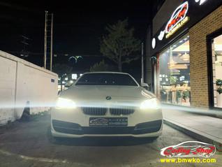 BMW 520d 핸들 교체. 패들쉬프트 활성화