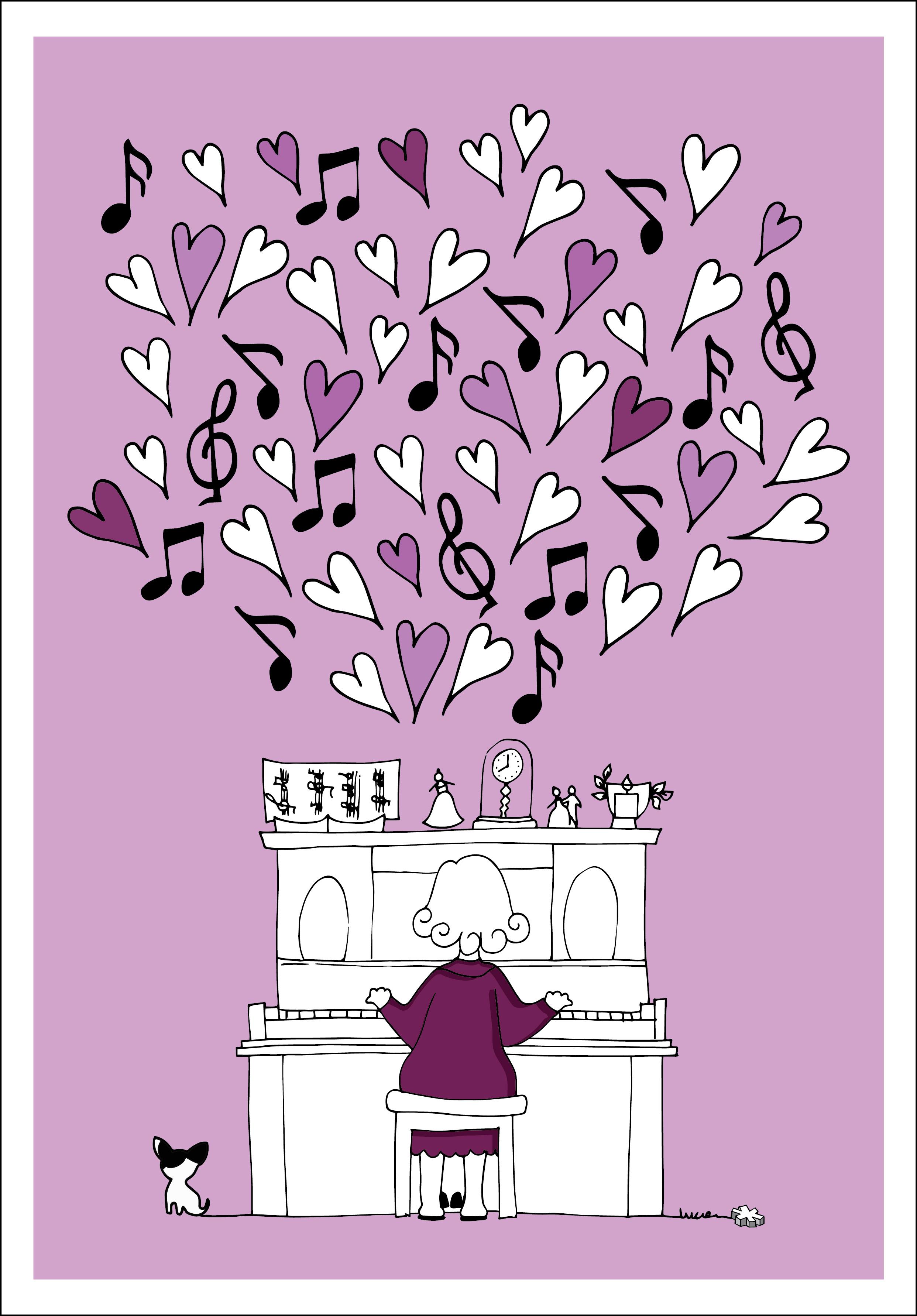 Realismo Mágico:Mi abuela pianista.