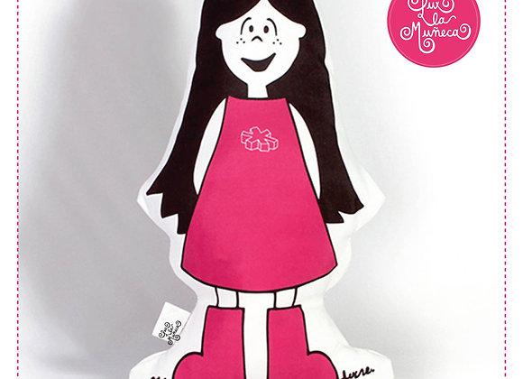 Muñeca de trapo / Almohadón - Lux Clásica