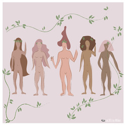 Empowered Naked Women