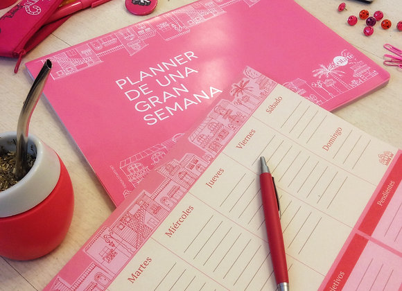 Planificador diario PINK
