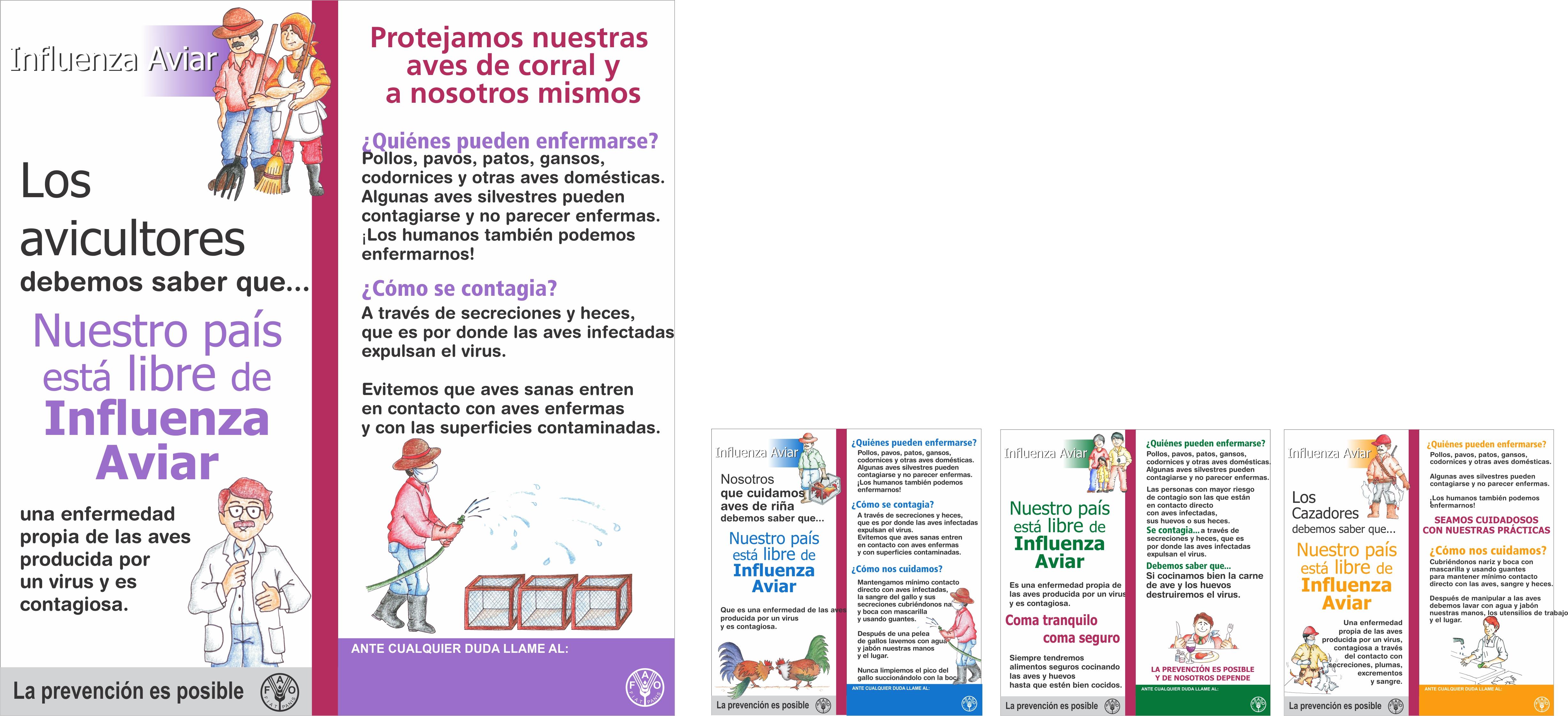 Campaña prevención INFLUENZA AVIAR