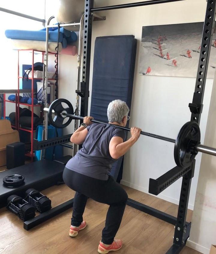 אימון כוח לגיל +60 - כי אוסטאופורוזיס זו לא גזירת גורל