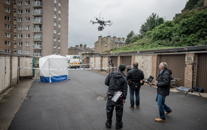 DCMI & BB Stratus team up for more challenging aerial sequences on series 2 of Happy Valley BBC1