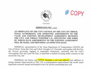 """Ordinance 1203 - Did the city know about the """"untruths""""?"""