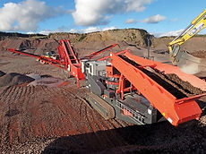 Crushing and screening contractor, statewide tasmania