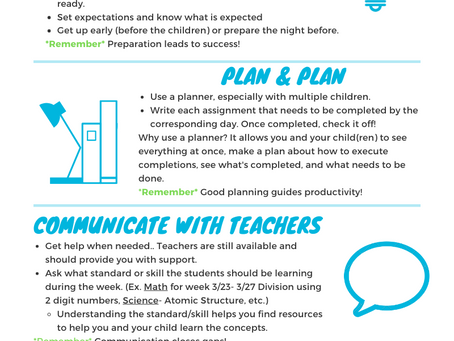 Preparing for Another Week of At-Home Learning (Infographic)