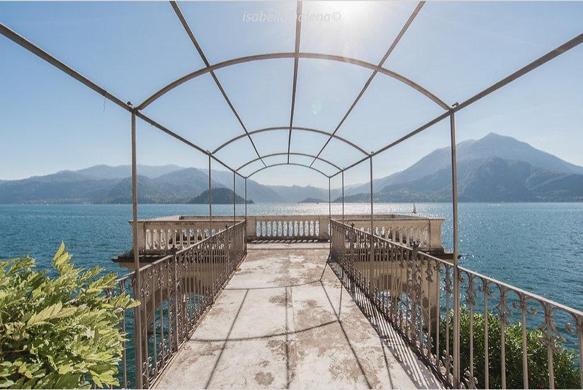 Pontile sul lago | Isabella Balena
