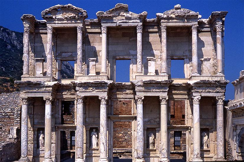 Biblioteca di Efeso-Celso 1 (Turchia)   Gianni Maffi