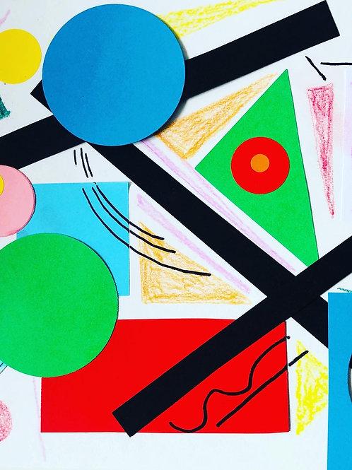 Wacky Warhol's- Kandinsky Art Box