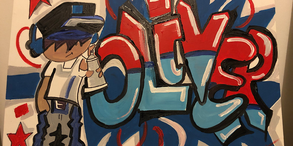 Graffiti Style Acrylic Workshop