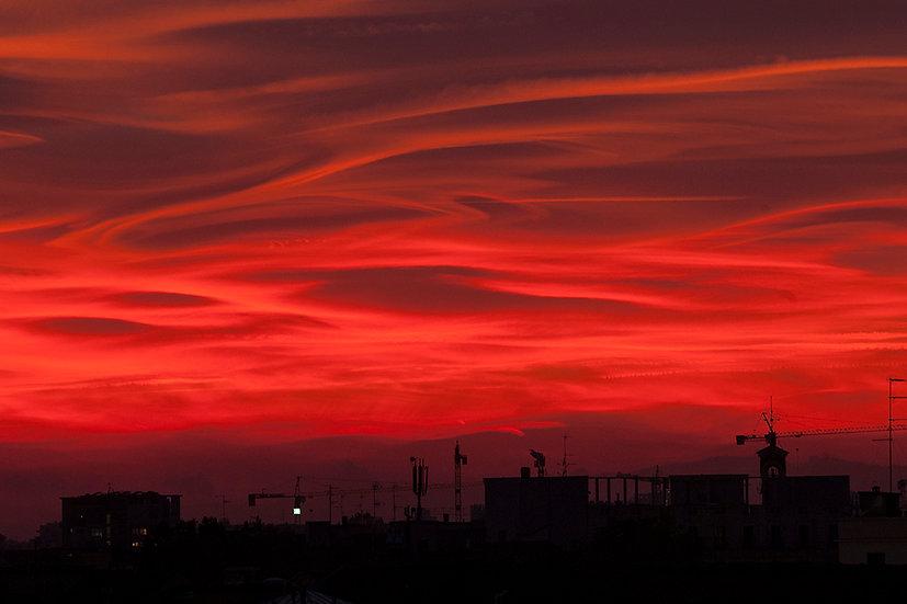Red Skyline 1 | Luca Cortese