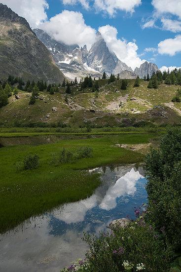 Val Veny - Lac du Combal e Aguille Noire | Luca Cortese