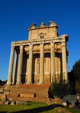 LC_Roma_Fori Imperiali_Tempio di Antonino e Faustina_2008_cm70x100