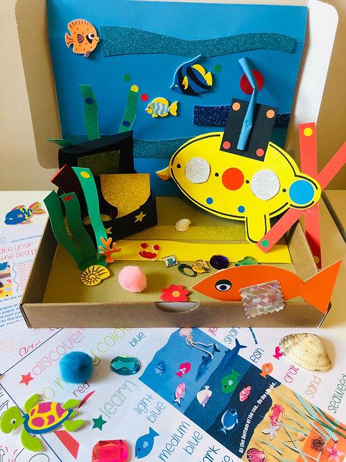 Under the Sea - Dib Dab Art Box
