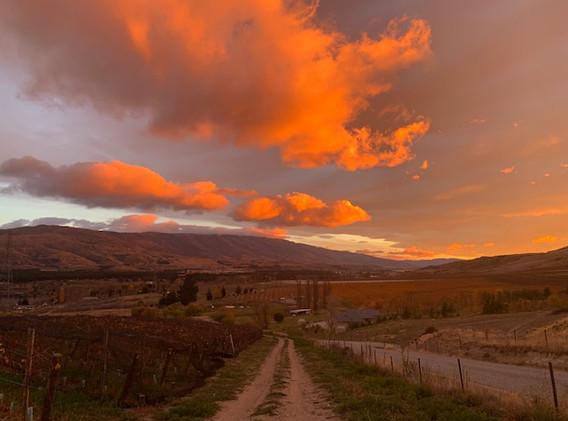 Sunset - Pisa Range