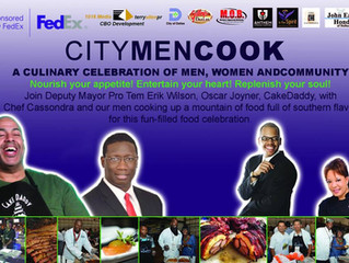 Chef Cassondra celebrates Father's Day with City Men Cook