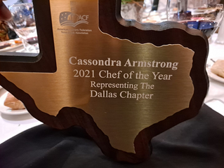 Texas Chefs Association 2021 Chef of The Year!