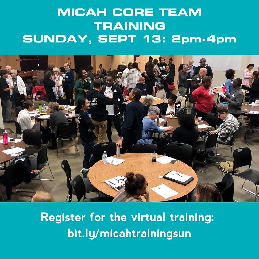 Partners Virtual Training Sunday Session