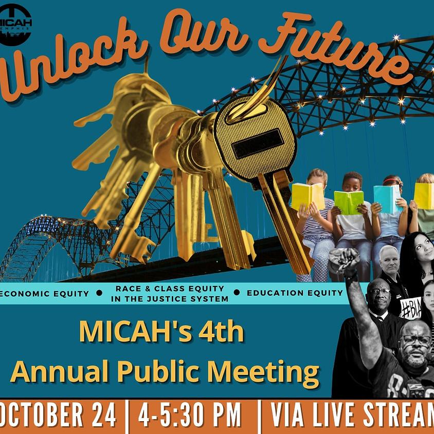 MICAH's 4th Annual Public Meeting