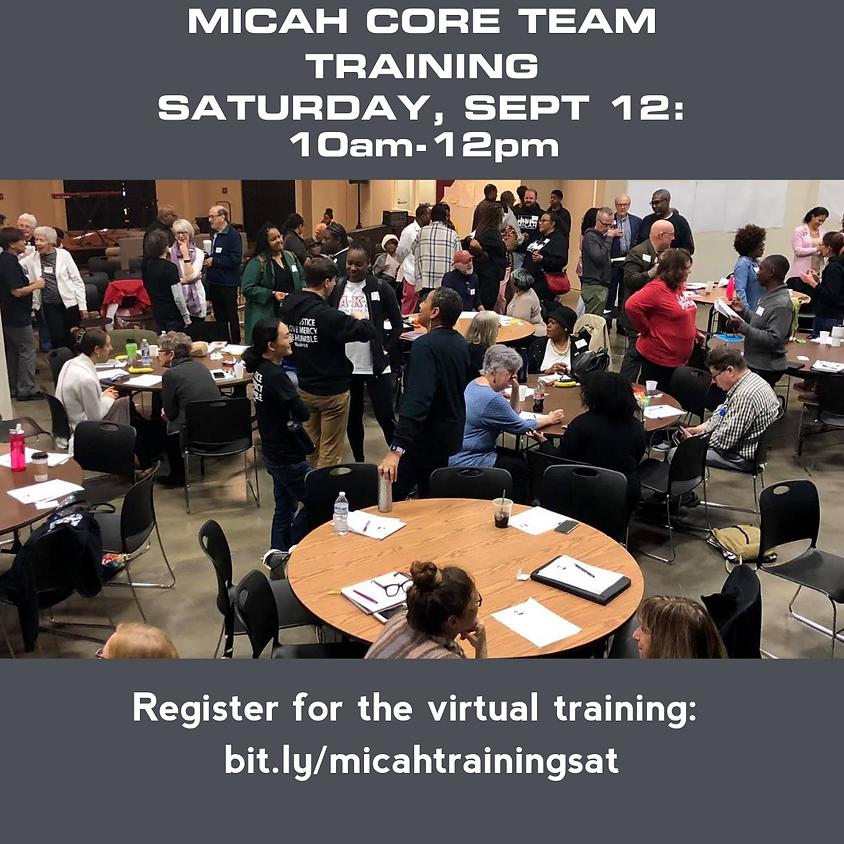 Partners Virtual Training Saturday Session