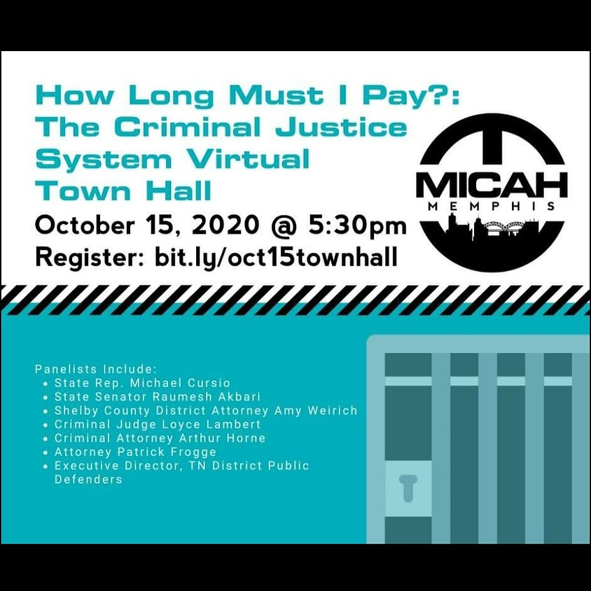 Criminal Justice Town Hall