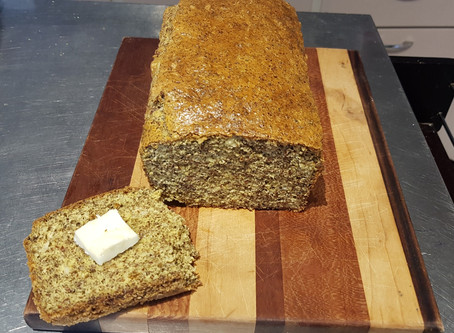 Low Carb, Gluten-Free Ketogenic Friendly Bread