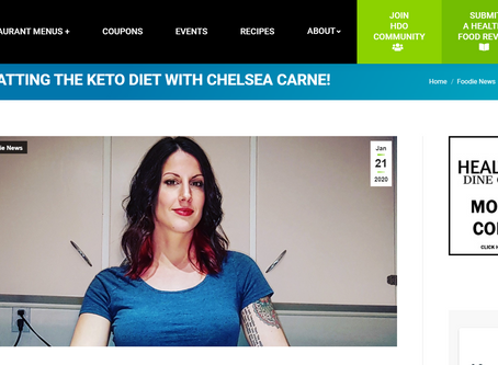 Interview with Healthy Dine Out!