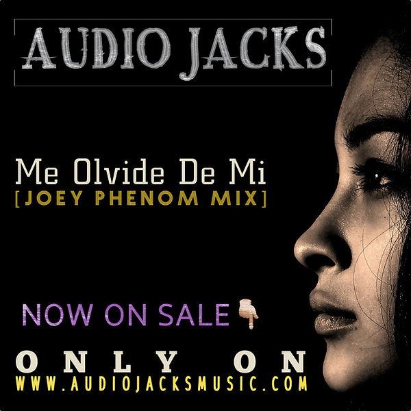 Me Olvide De Mi - Joey Phenom Promo Art.