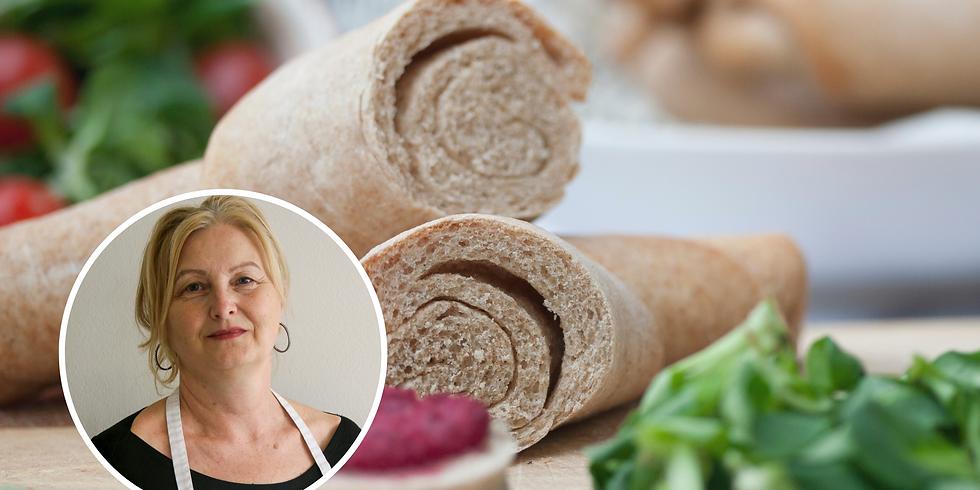 Egészséges kenyérsütés alapjai, házi kencékkel