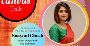 Your life is your choice || Saayoni Ghosh || My Canvas Talk