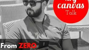 Story of ZERO to ONE MILLION || Anubhav Mukherjee || The Kolkata Buzz || My Canvas Talk
