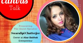Journey of a Single Mother || Swaralipi Chatterjee || Abar Baithak || My Canvas Talk