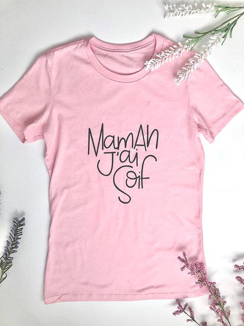 Le t shirt basique - rose
