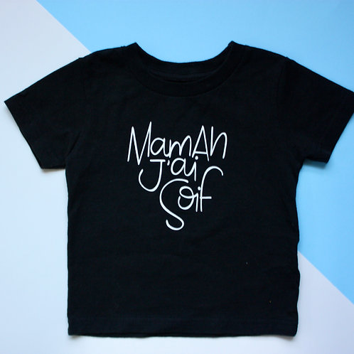 T shirt manches courtes pour enfant